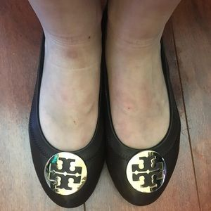 Tory Burch flats good condition few scratches
